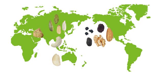 健康村 原味堅果 優質大宗產地